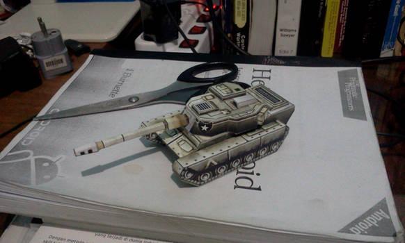 Crusader Tank Papercraft