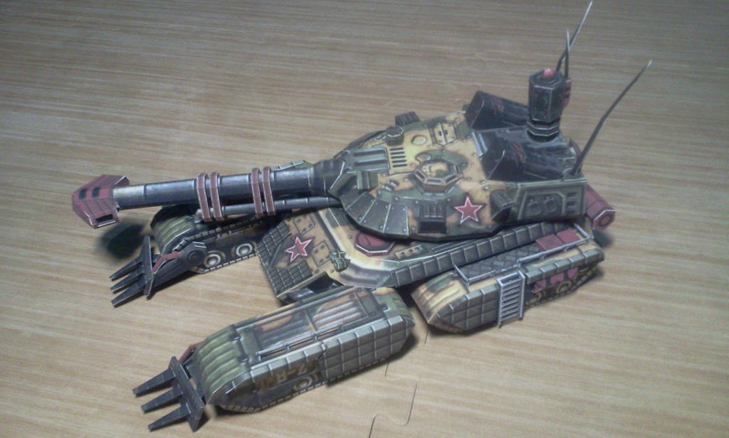 Rise of the Reds Russian Sentinel Tank Papercraft