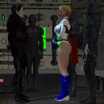 Power Girl Captured #3e: Meeting My Captor