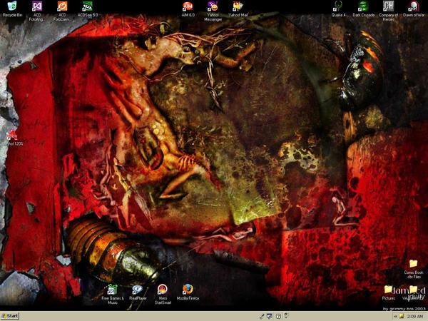 Desktop Background by thealmightybeav