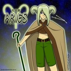 Aries the Ram by Kitschensyngk