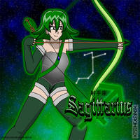 Sagittarius the Archer by Kitschensyngk