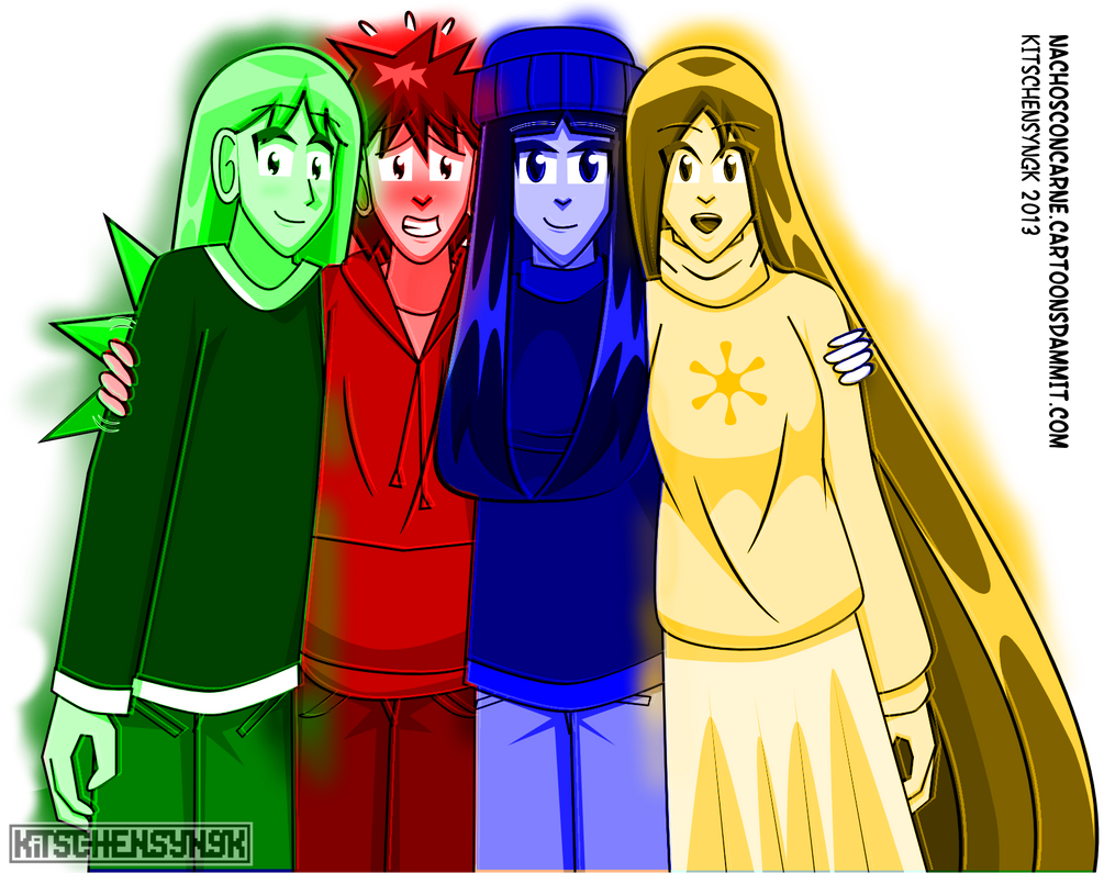 NCC: Four Color by Kitschensyngk