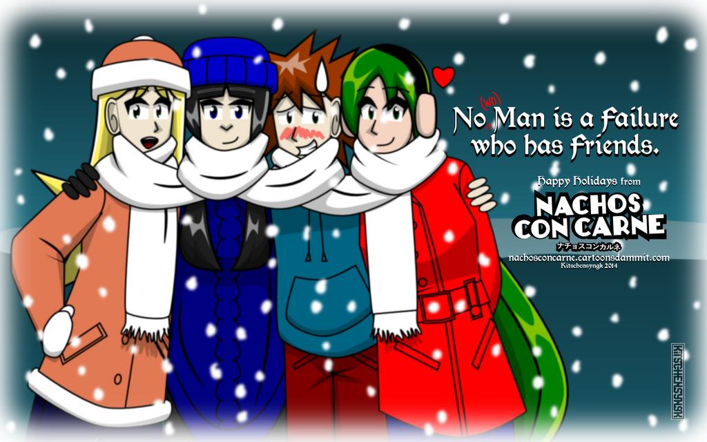 NCC Happy Holidays 2014 by Kitschensyngk