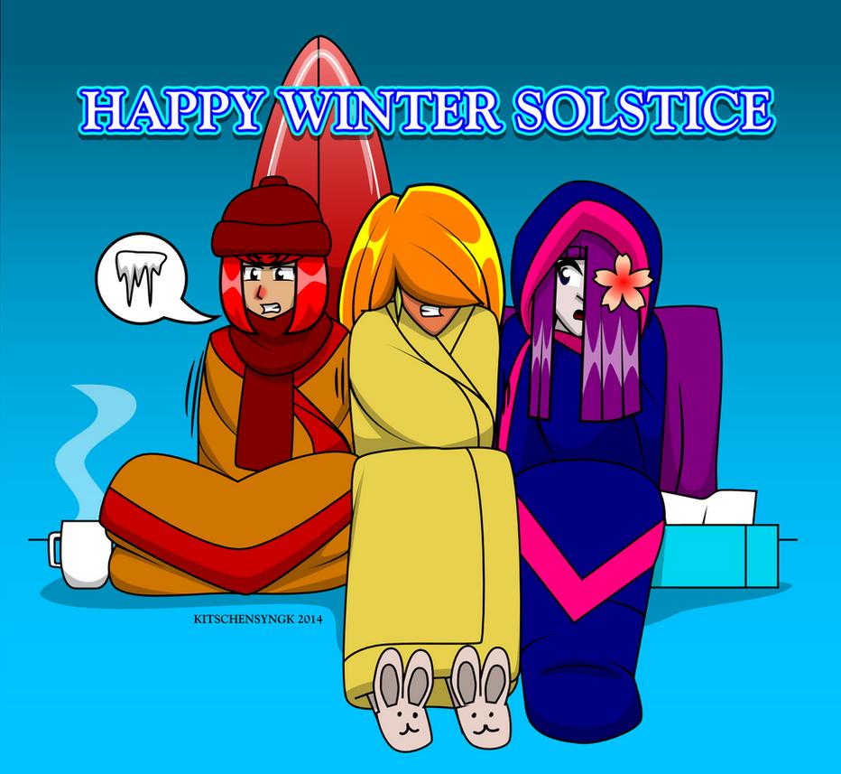 Happy Winter Solstice by Kitschensyngk