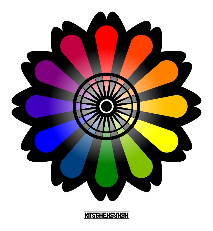 Color Flower By Kitschensyngk