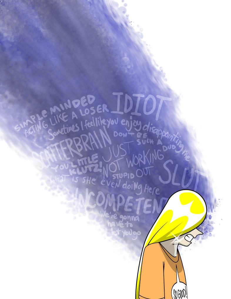 Renee's Anxieties by Kitschensyngk