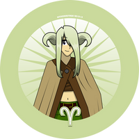 Aries button by Kitschensyngk
