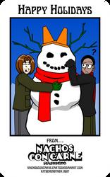 NCC Holidays 2017: Making a Snow...man by Kitschensyngk