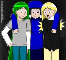 NCC: Bonnie, Katrina and Renee by Kitschensyngk