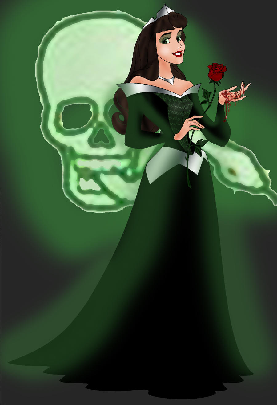 The Dark Lady by ThePrincessNightmare