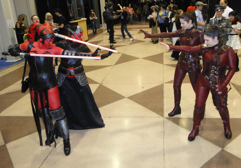 Sith vs Sith by ThePrincessNightmare
