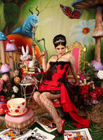 Pin Up Queen of Hearts 5 by ThePrincessNightmare