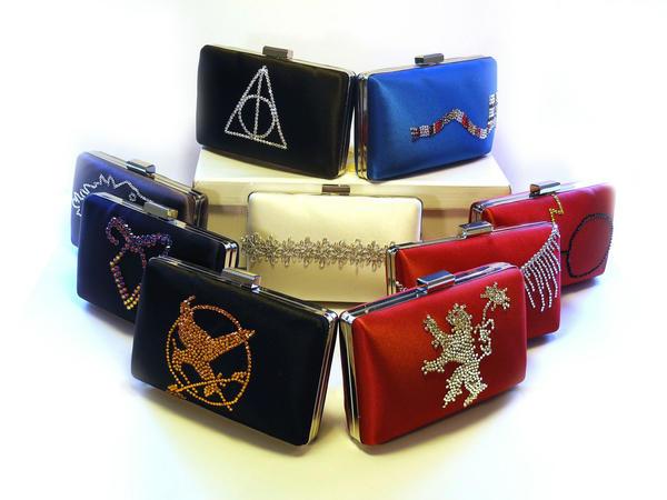 Custom Swarovski Crystal Clutch Bags by ThePrincessNightmare