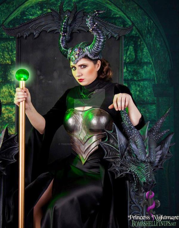 Maleficent by ThePrincessNightmare