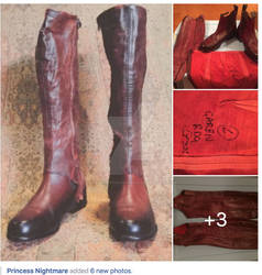 Screen Worn Mord Sith Riding Boots by ThePrincessNightmare