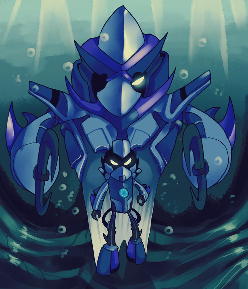 [ THE TRUE KING OF SEA ] by BlueMoshka