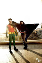 Teen Titans Go by Catzilerella