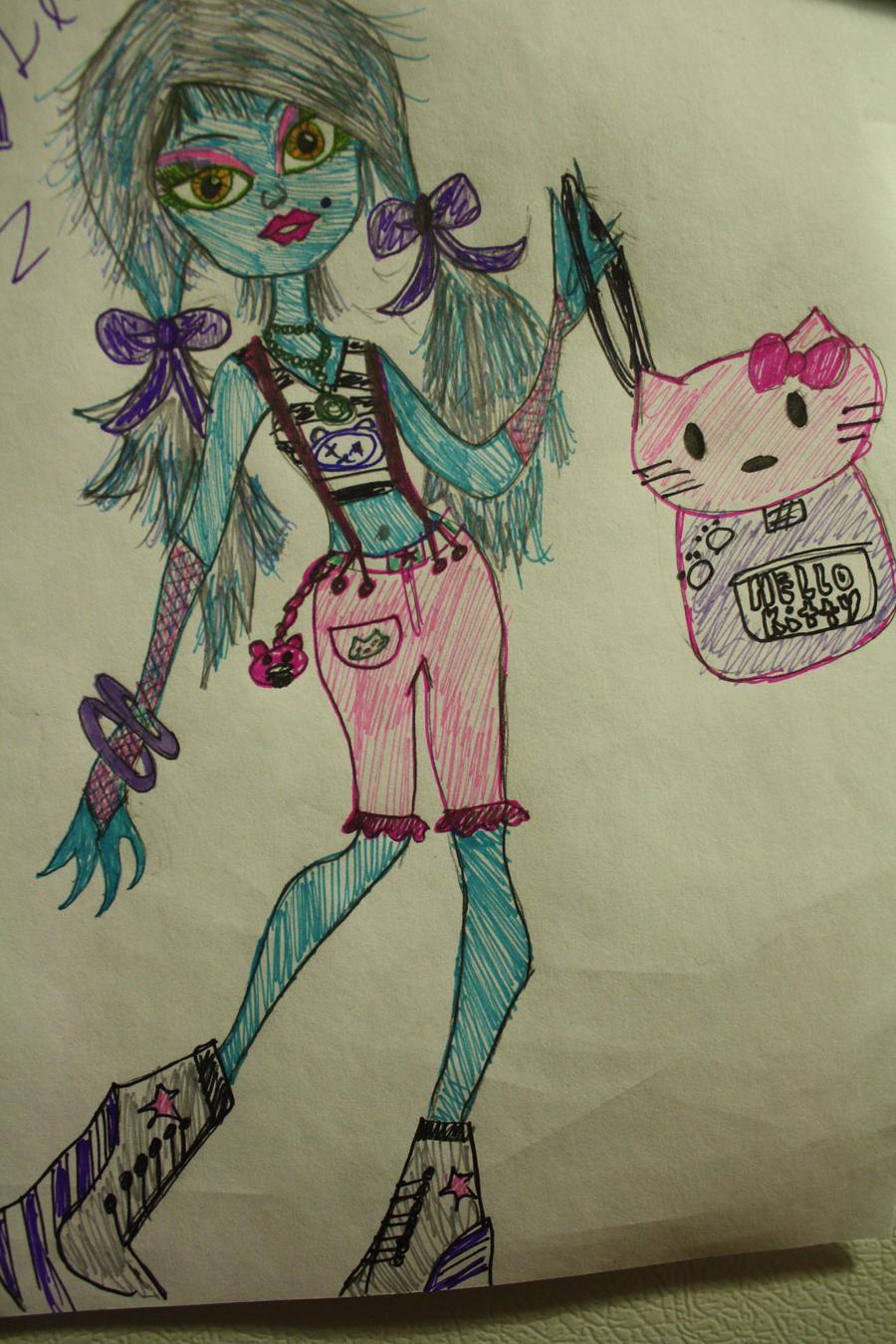 Monster High Catzi by Catzilerella