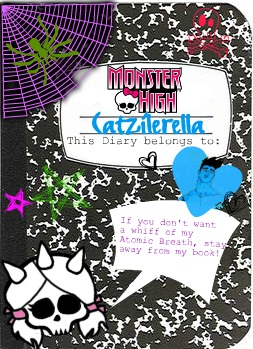 Cazi's Journal 2 by Catzilerella