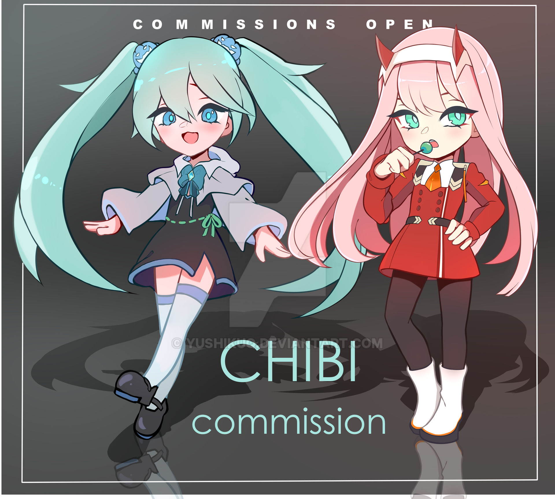 FIXED PRICE [CHIBI COMMISSIONS CLOSED]