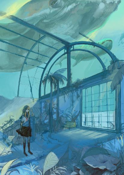 an aquarium by necosanma