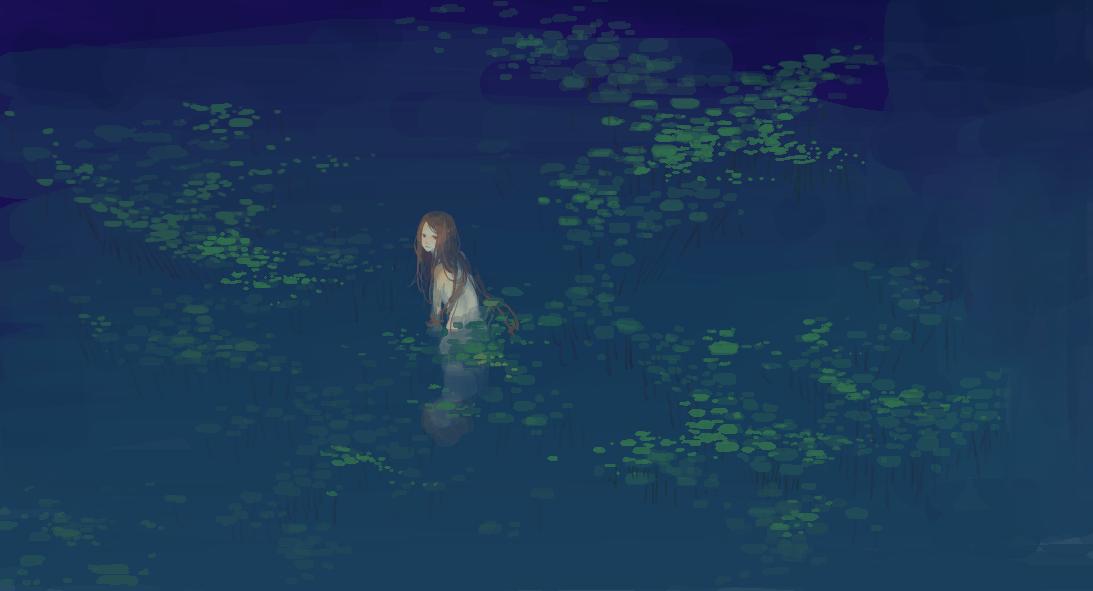 Pond by necosanma