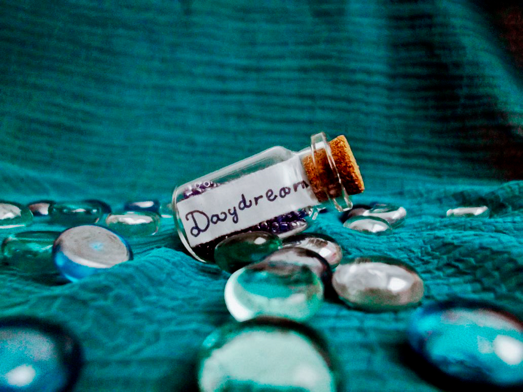 A bottle of daydream by DianaVVolf