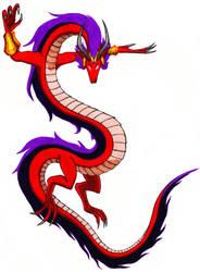 MB MMXIX: Shantae's Dragon Form by ObscuredTitan