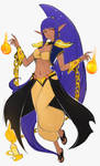 Kuaka, the Mother of Shantae by Omiza-Zu by ObscuredTitan