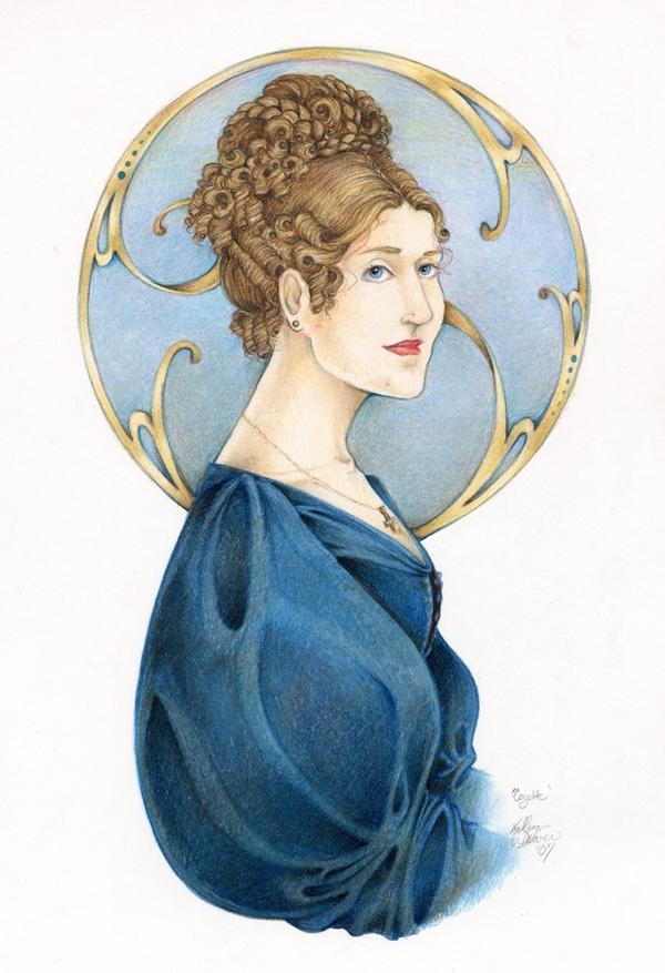 Cosette by lorneniesart