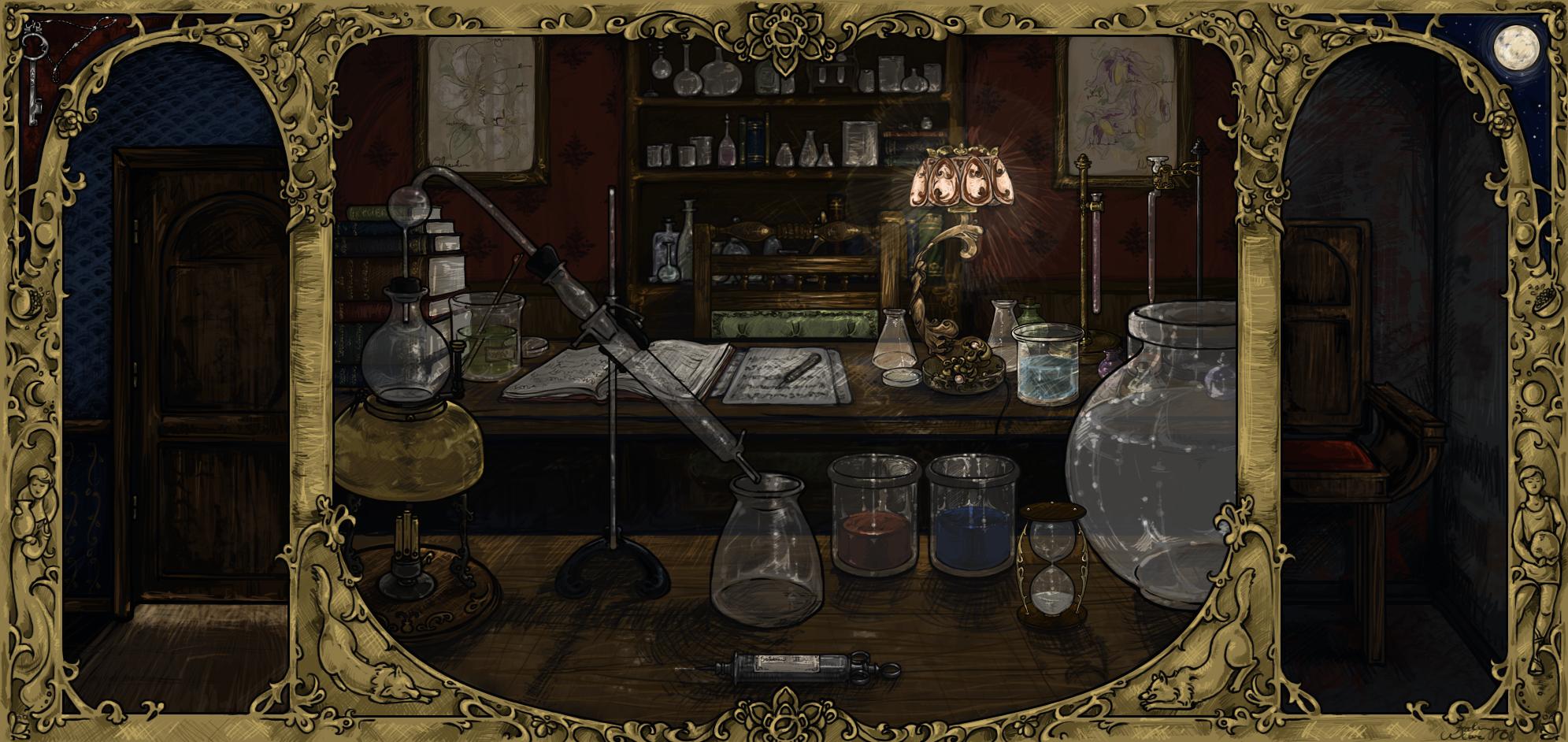 The Laboratory by lorneniesart