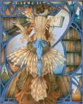 Pterois volitans by lorneniesart