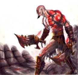 Kratos by Frankie-Uzumaki