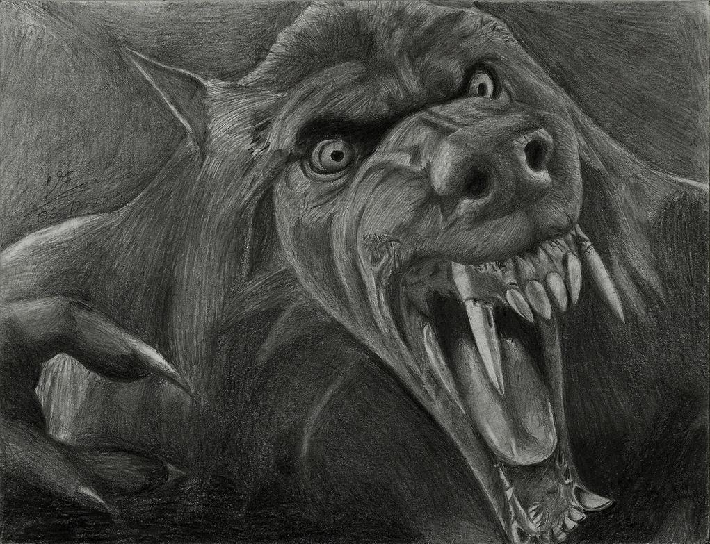 Van Helsing Werewolf by drawinglerpVan Helsing Drawing