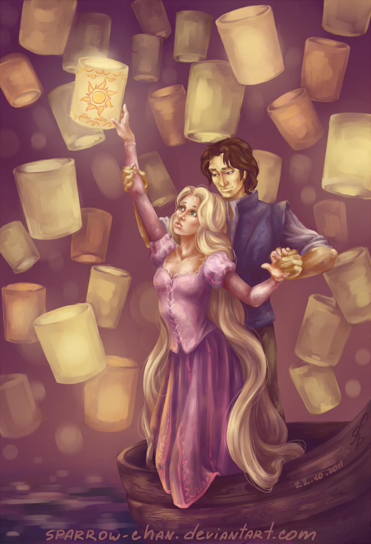 Tangled: Rapunzel and Flynn by sparrow-chan on DeviantArt for Tangled Rapunzel And Flynn Dancing  173lyp