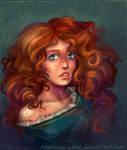 Brave: princess Merida by sparrow-chan