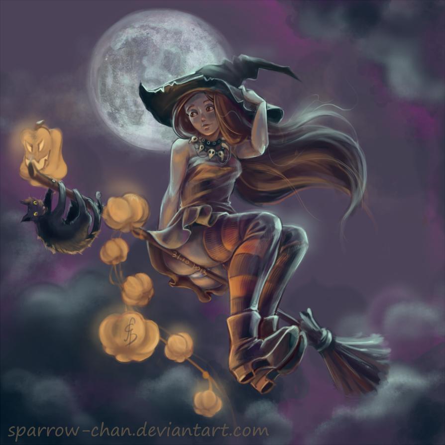 Best Halloween Fantasy Paintings