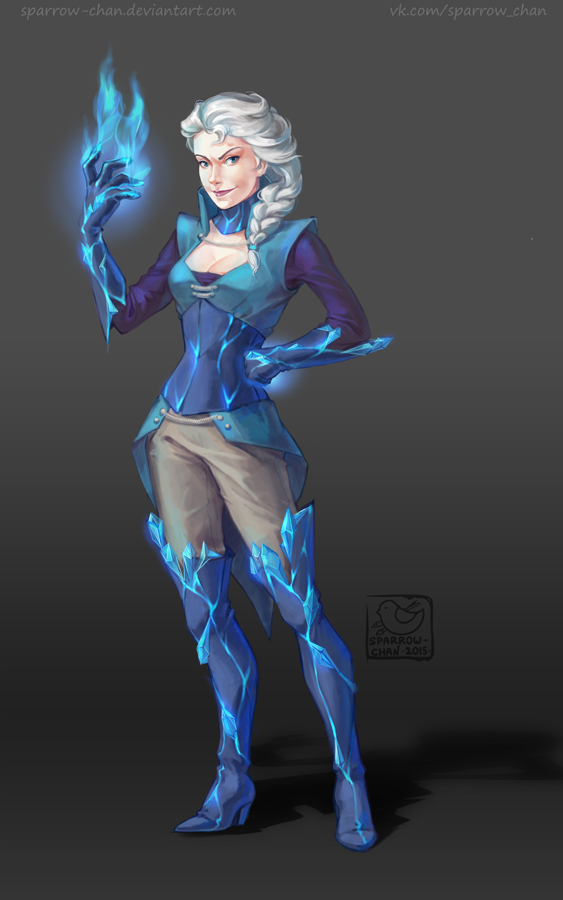 Frozen mage by sparrow-chan