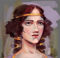Face challenge#10 - medieval princess