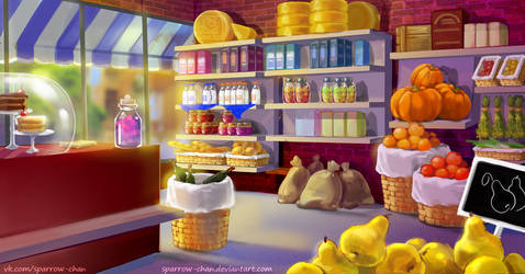 Country Shop  by sparrow-chan