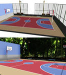 MMD Stage DL   Basketball court