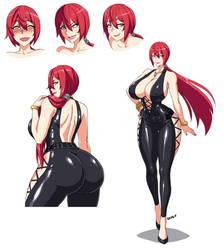 Shiori Kuroyomi by Devil-V