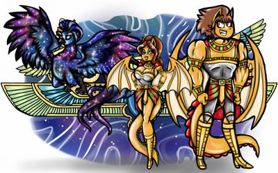 Demonarie and Altanie's Fantasy world(read please) by Marmartota2001