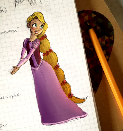Rapunzel by WaterbenderGirl96