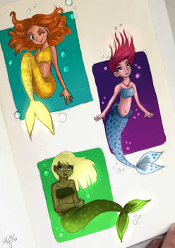 More mermaids!