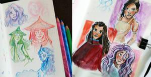 raya sketches