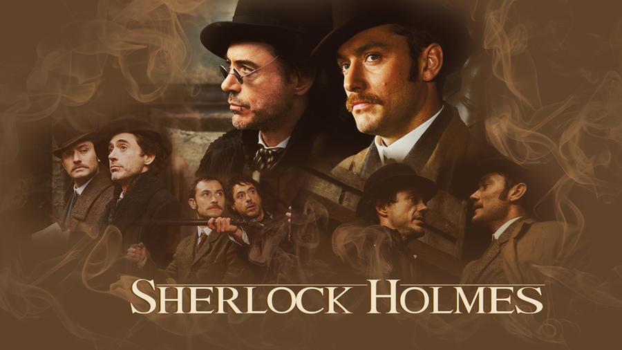 Sherlock Holmes Wallpaper By Nikivanderende On Deviantart