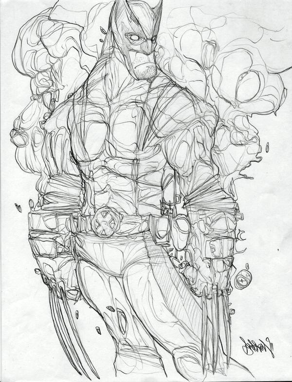 Wolverine by Gambear1er