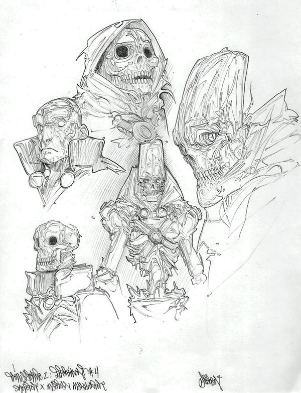 Skeletor X Martian Manhunter by Gambear1er